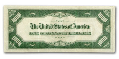 1934-A (H-St. Louis) $1,000 FRN (Very Fine)